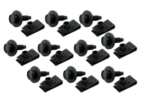 Allstar Performance Body Bolt Kits with Clips ALL18558