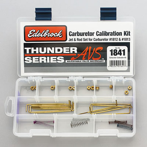Edelbrock Thunder Series AVS Carburetor Calibration Kits 1841