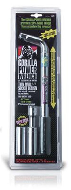 Gorilla Automotive Extendable Lug Nut Wrench Kits 1334