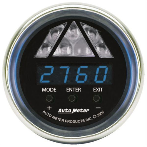 AutoMeter Auto Meter Level 2 Cobalt Digital Pro Shift Light Gauges 6188