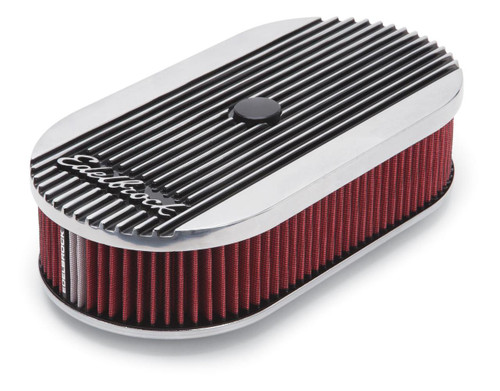 Edelbrock Elite II Series Oval Single Carb Air Cleaner Assembly 4273