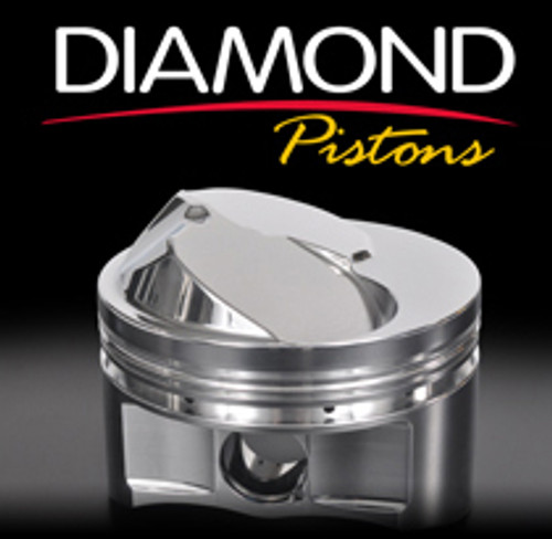 Diamond Racing Products Pistons Flat Top 4.070/4.000/6.125 11555-R1-8