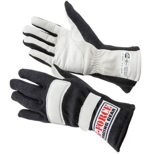 G-FORCE GF G1 RaceGrip Gloves 4100LRGBK