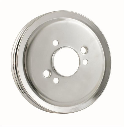 Mr. Gasket Chrome Plated Crank Pulleys 8824