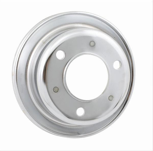 Mr. Gasket Chrome Plated Crank Pulleys 8827