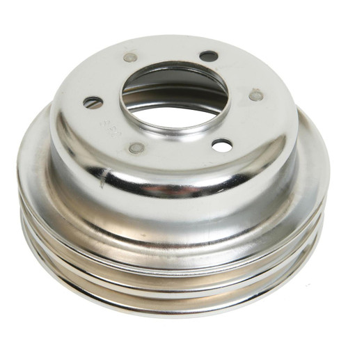 Mr. Gasket Chrome Plated Crank Pulleys 8830
