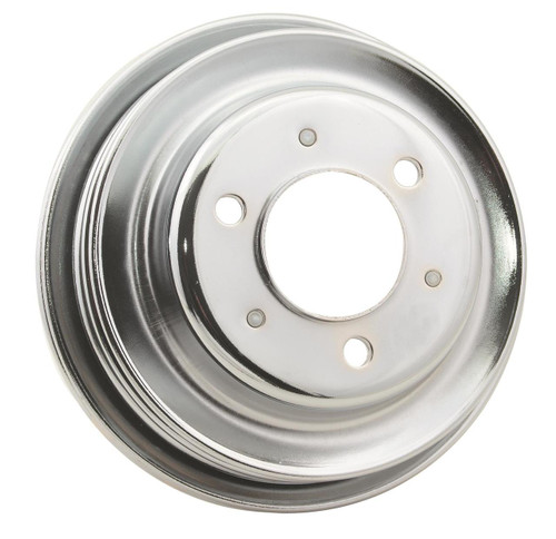 Mr. Gasket Chrome Plated Crank Pulleys 4961G