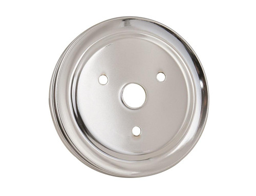 Mr. Gasket Chrome Plated Crank Pulleys 4973