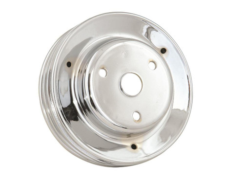 Mr. Gasket Chrome Plated Crank Pulleys 4978