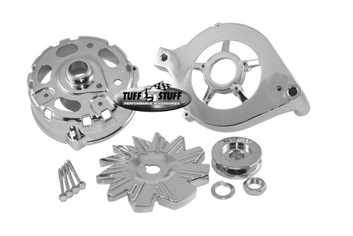 Tuff Stuff Performance Alternator Chrome Case Kits 7500C