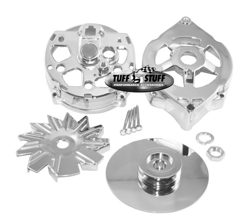 Tuff Stuff Performance Alternator Chrome Case Kits 7500B
