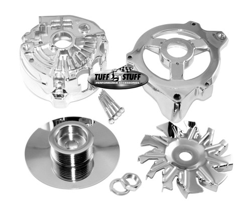 Tuff Stuff Performance Alternator Chrome Case Kits 7500F