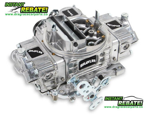 Quick Fuel Brawler Die-Cast Series Carburetor 570 cfm BR-67253 with FREE SHIPPING and INSTANT REBATE SAVINGS