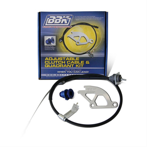 BBK Performance Adjustable Clutch Cable and Quadrant Kits 16095