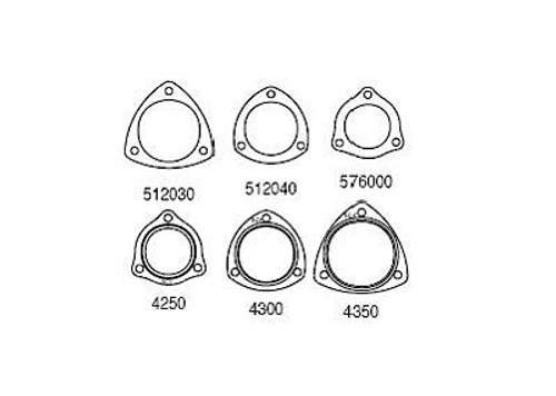 SCE Gaskets AccuSeal E Collector Gaskets 576000