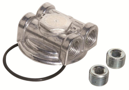 Perma-Cool Dual Port Spin-On Oil Filter Adapters 3796