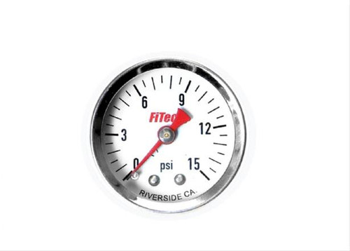 FiTech Fuel Injection Analog Fuel Pressure Gauges 80116
