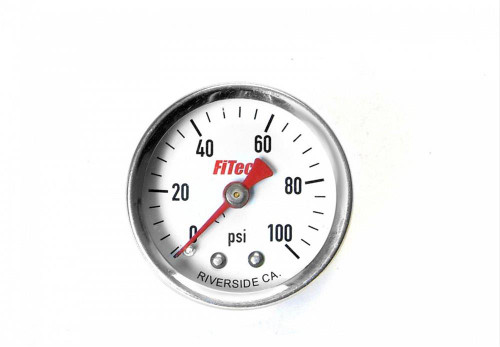 FiTech Fuel Injection Analog Fuel Pressure Gauges 80115