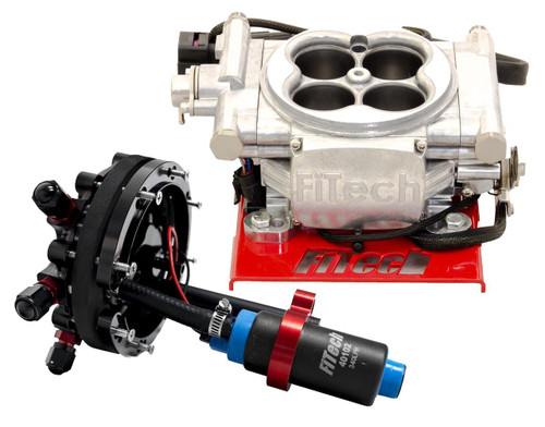 FiTech Fuel Injection Go EFI 4 600 HP Self-Tuning Systems with Hyperfuel In-Tank Modules 34001