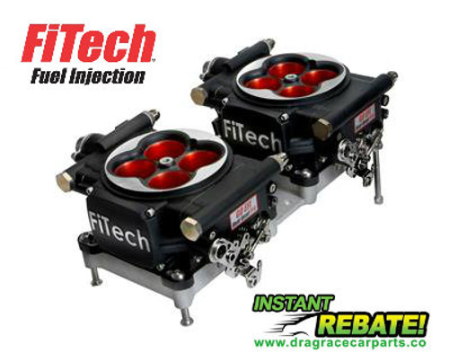 FiTech Fuel Injection Go EFI 2x4 Dual-Quad Power Adder 1200 HP System 30064 with FREE SHIPPING and INSTANT REBATE SAVINGS