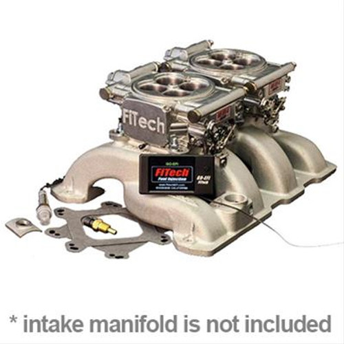 FiTech Fuel Injection Go EFI 2x4 Dual-Quad 625 HP Self-Tuning Systems with Hyperfuel In-Tank Modules 34061