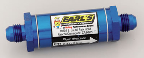 Earl's Performance Inline Fuel Filters 230206ERL