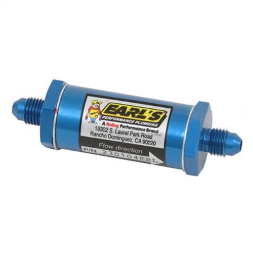 Earl's Performance Inline Fuel Filters 230104ERL