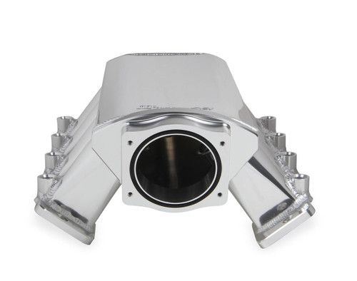 Holley Sniper EFI Fabricated Intake 92mm Throttle Body LS1 LS2 LS6 820031 (FRONT VIEW)