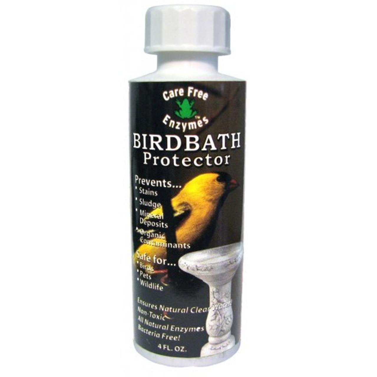 Bird Bath Cleaner