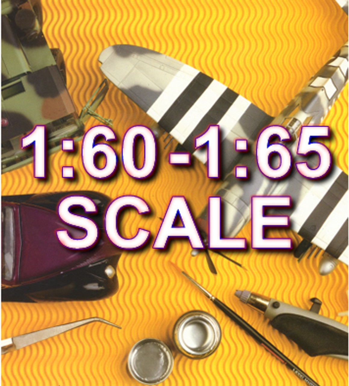 1:60 to 1:65 Scale Model Kits