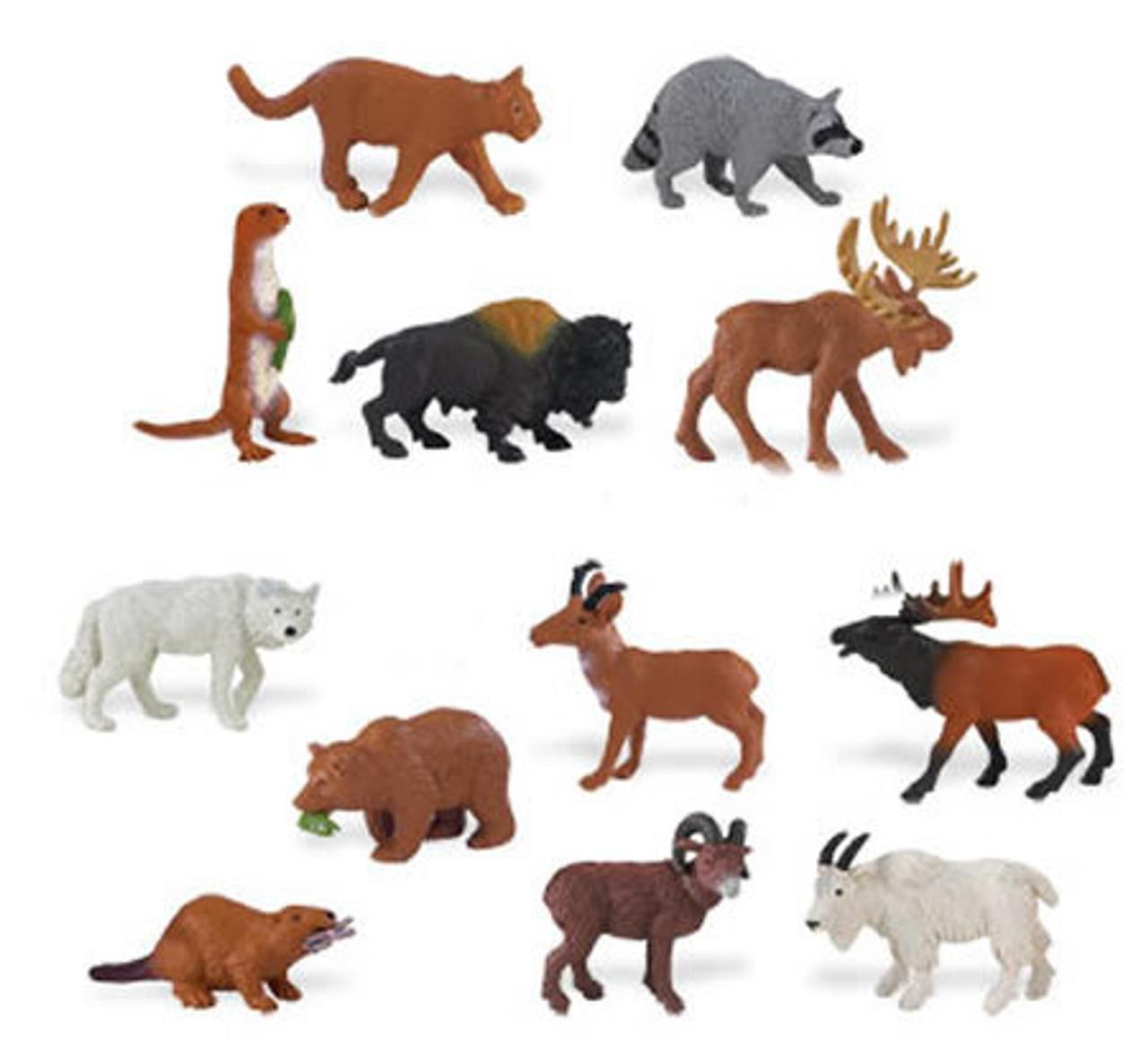 Small Miniature Animals & People Figures