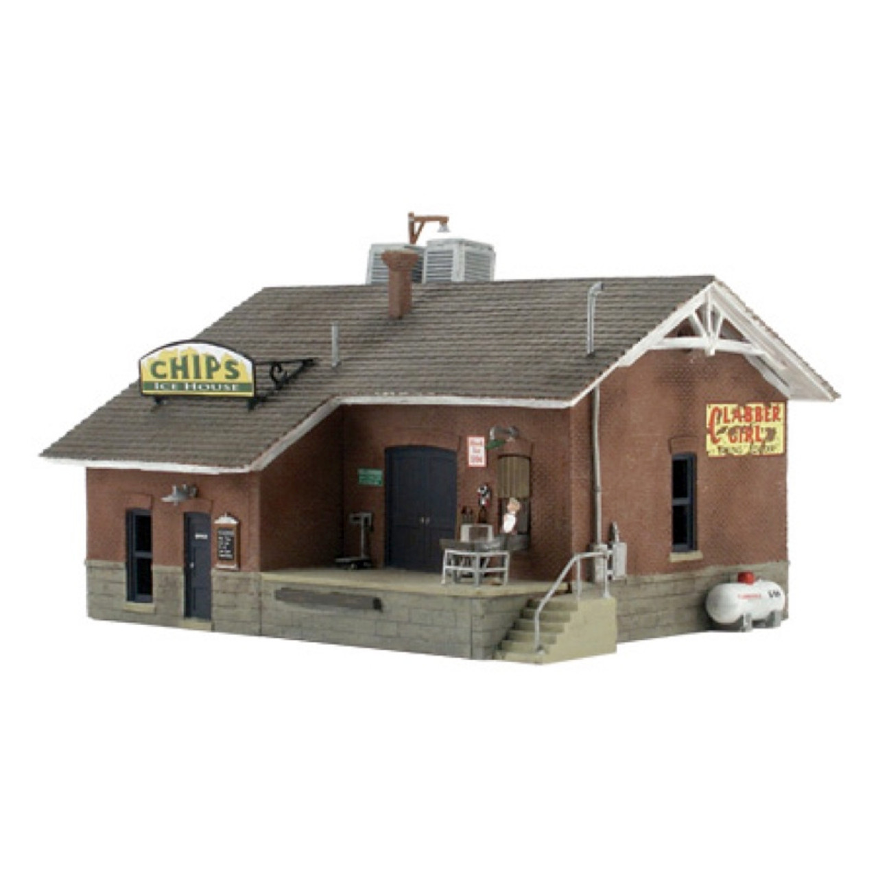 Woodland Scenics BR4944 N Scale Theater Built /& Ready Structure