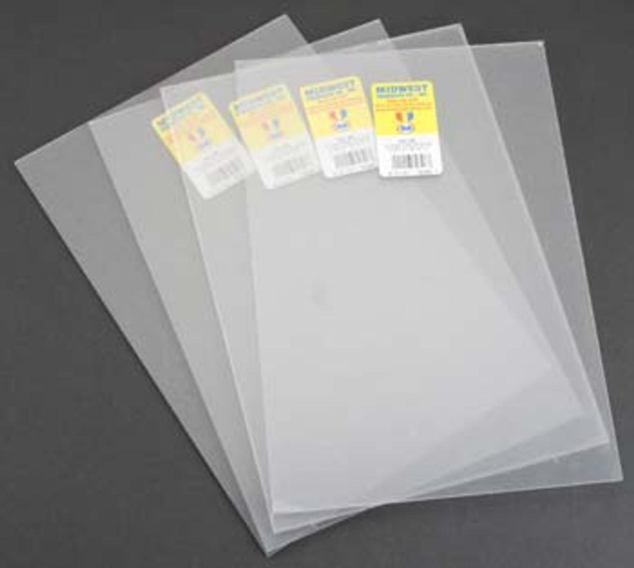 701-04 Midwest White Sheet Polystyrene .040 4