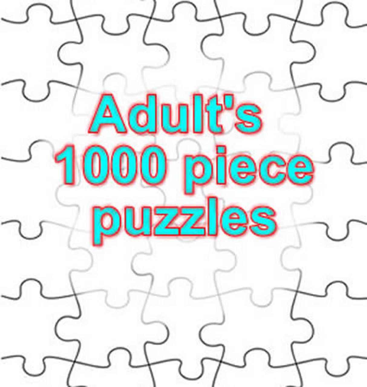 1,000 PIECE PUZZLES