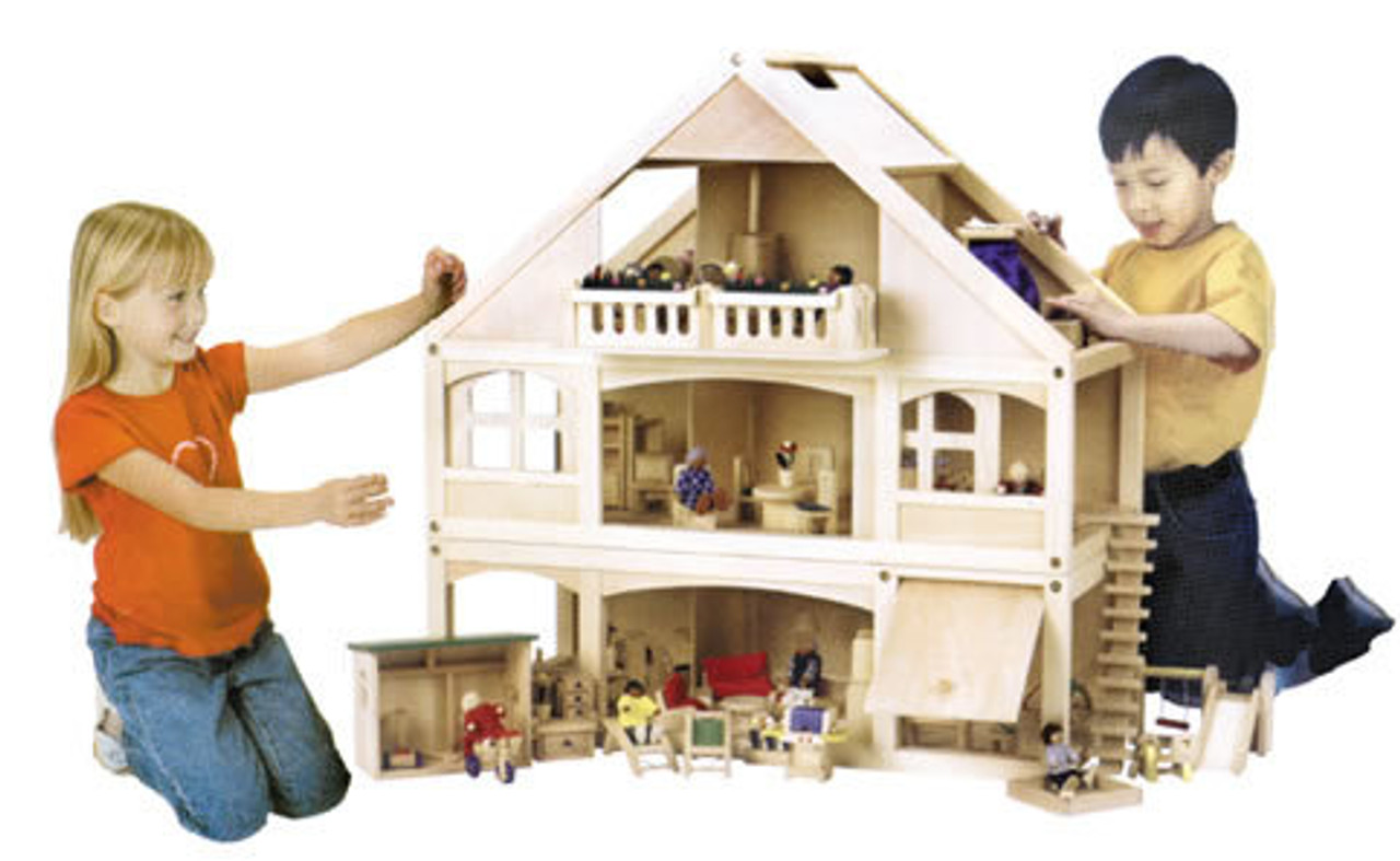 """1"""" Scale CHILDREN'S PLAY DOLLHOUSES"""