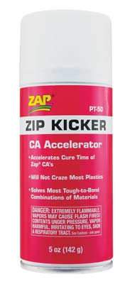 PT50 Zip Kicker Aerosol 5 oz For Adhesive (PT50) 087093004559