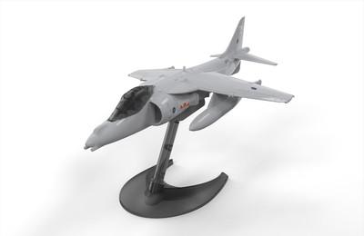OakridgeStores.com   AIRIFX - QUICKBUILD Harrier - Plastic Model Airplane Kit 5055286625695
