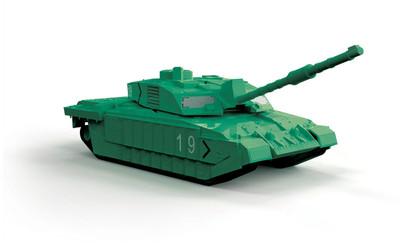 OakridgeStores.com   AIRIFX - QUICKBUILD Challenger Tank - Green - Plastic Model Kit 5055286648045