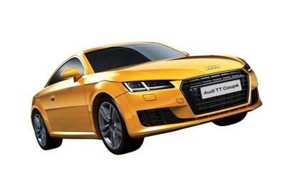 OakridgeStores.com   AIRIFX - QUICKBUILD Audi TT Coupe - Plastic Model Car Kit 5055286661389