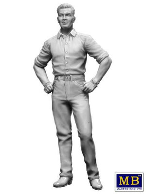 "OakridgeStores.com | MASTER BOX - Stan ""Long Haul"" Thompson Trucker 1:24 Scale Model Kit (24042) 4820113080975"