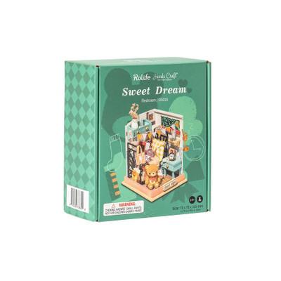 OakridgeStores.com | HANDS CRAFT DYI Miniature House Kit: Sweet Dream (Bedroom) (DS016) 850026738322