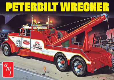 AMT - 1/25 Peterbilt 359 Wrecker - (1133) 849398030394