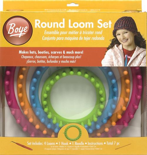 BOYE - Round Loom Set - (1001w) 070659754876