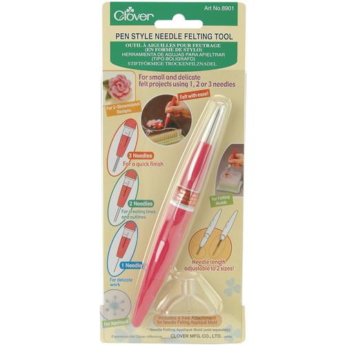 CLOVER - Pen Style Needle Felting Tool - (8901) 051221557354