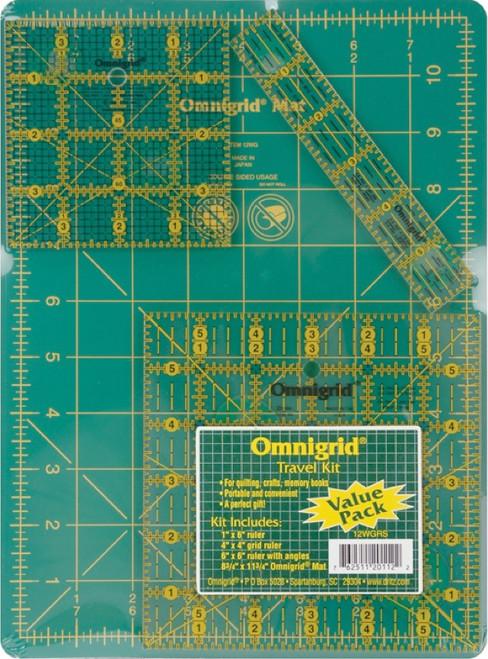 DRITZ - Omnigrid Tool Kit-Travel 4/Pkg (R12WGRS) 762511201122