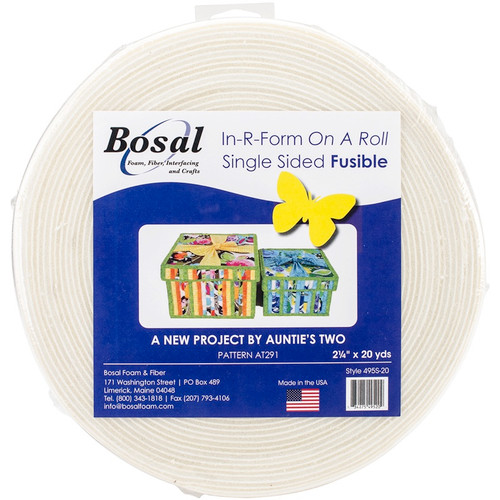 "BOSAL - In-R-Form Unique Fusible Foam Stabilizer-2.25""X20yd (495S-20) 834875495209"