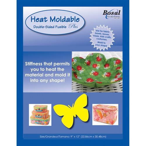 """BOSAL - Heat Moldable Stabilizer Double-Sided Fusible-20""""X36"""" (491) 834875004913"""