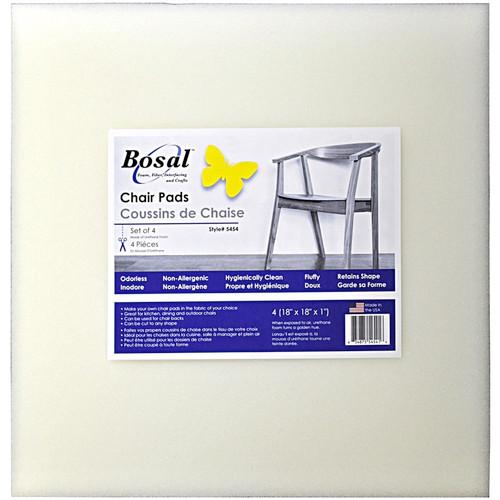 "BOSAL - Foam Chair Pad 18""X18""X1"" 4/Pkg-Square (5454) 834875545416"