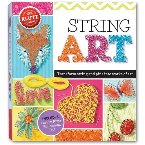 KLUTZ - String Art Book Kit - (K570321) 730767703219