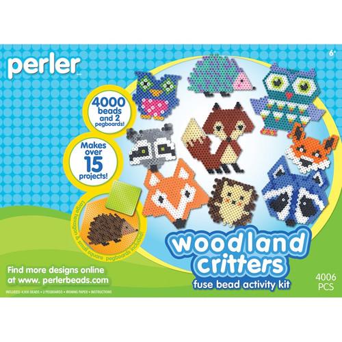 PERLER - Fused Bead Kit-Woodland Critters (80-54172) 048533541720